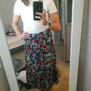 ☆summery old navy midi skirt☆
